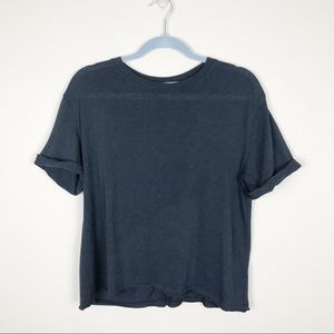 Free People We the Free Cassidy Tee Black
